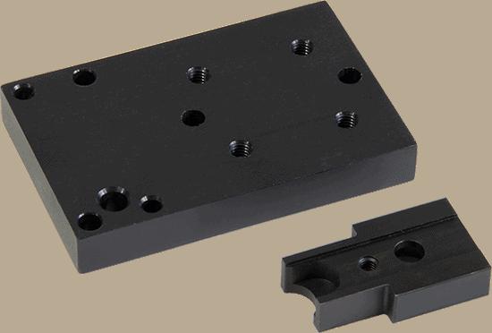 type 3 hard coat anodized parts